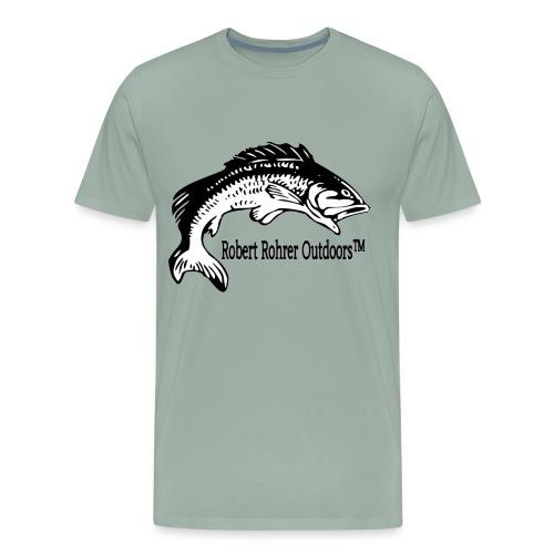 New Robert Rohrer Outdoors Fishing - Men's Premium T-Shirt