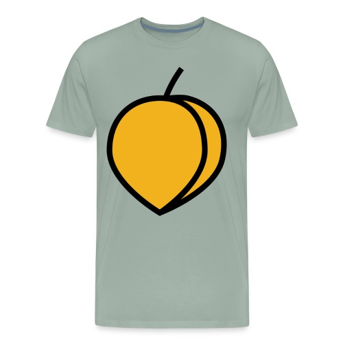Peach Lover Design Cute And Funny Food Gift Idea - Men's Premium T-Shirt