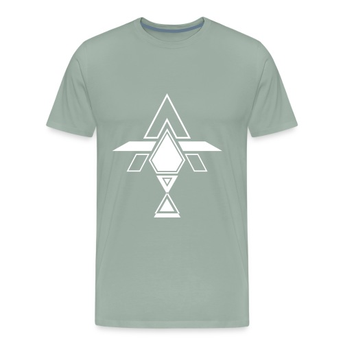 AT WHITE - Men's Premium T-Shirt