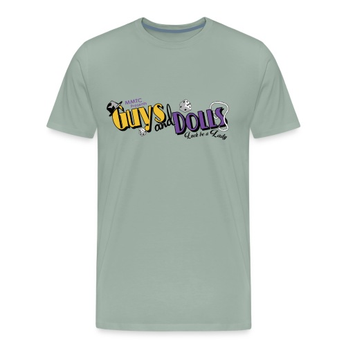 MMTC's Guys and Dolls 2018 - Men's Premium T-Shirt