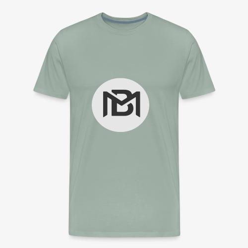 Black Magic Monogram - Men's Premium T-Shirt