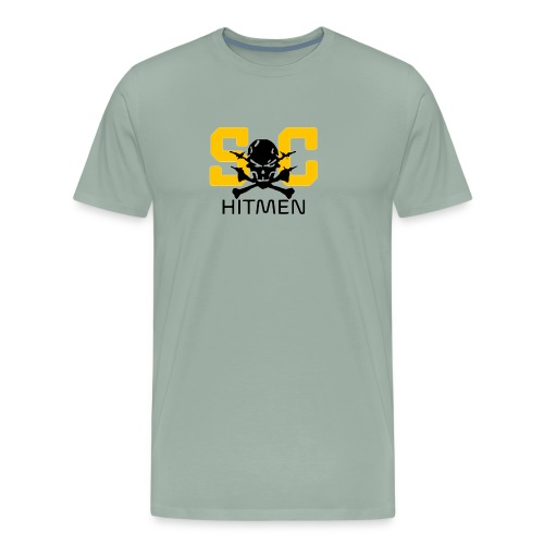 Steel CIty Hitmen - Men's Premium T-Shirt