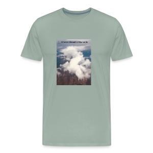 cherish beautiful moments of life - Men's Premium T-Shirt