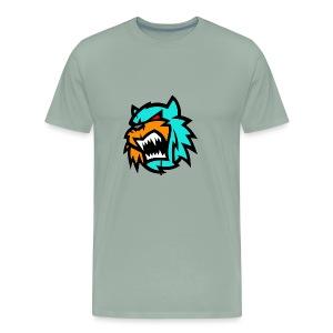Bob cat logo Neutron - Men's Premium T-Shirt