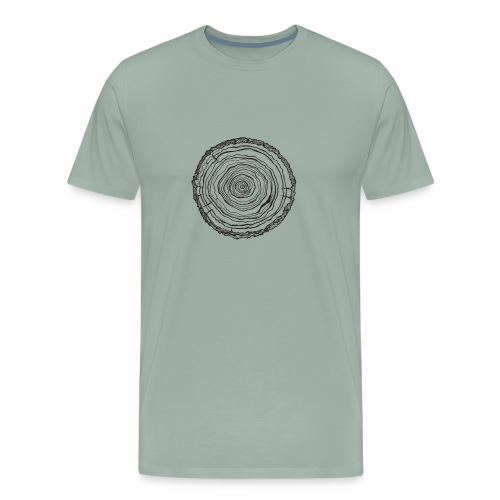 wood 1 - Men's Premium T-Shirt