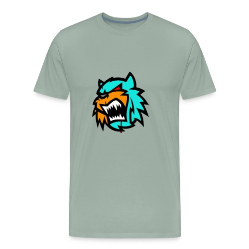 Bob cat logo Neutron - Men's Premium T-Shirt