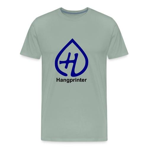 Hangprinter Logo and Text - Men's Premium T-Shirt