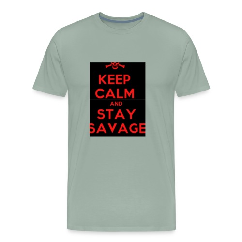 stay savage - Men's Premium T-Shirt