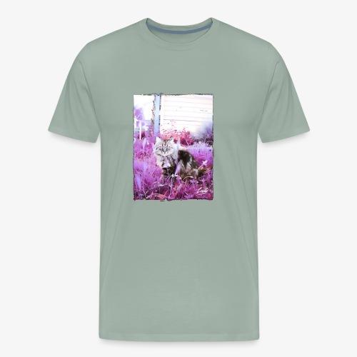 Lady cat - Men's Premium T-Shirt