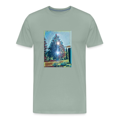 Save the present for better future - Men's Premium T-Shirt
