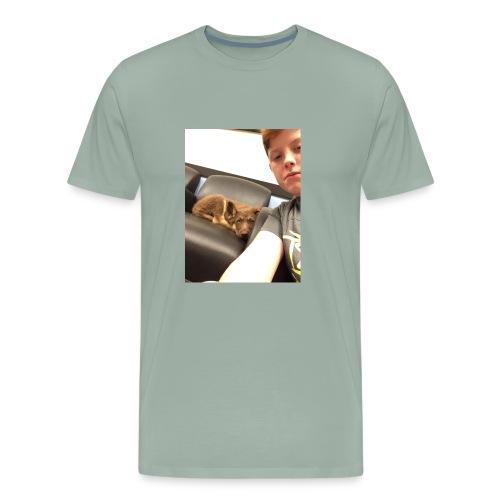 Kimber the puppy - Men's Premium T-Shirt