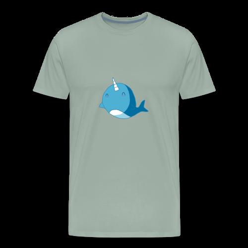 The Diamond Narwhal - Men's Premium T-Shirt