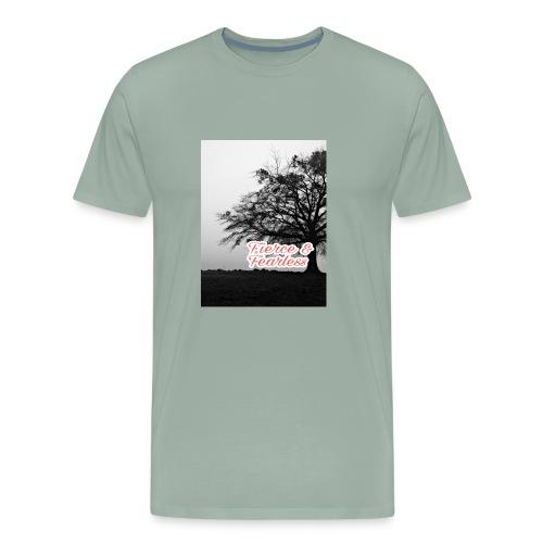 Fierce and Fearless - Men's Premium T-Shirt