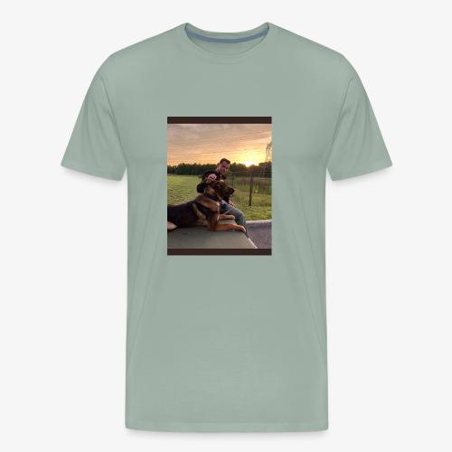 Mark Pini K9 Yogi - Men's Premium T-Shirt