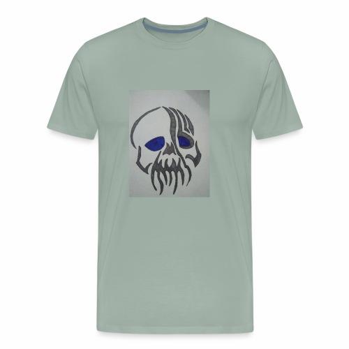 Blue Eyed Skull - Men's Premium T-Shirt