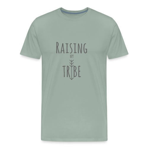 Raising My Tribe Light - Men's Premium T-Shirt