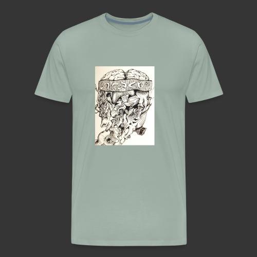 Brain Malfunction - Men's Premium T-Shirt