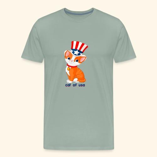 cat of usa - Men's Premium T-Shirt