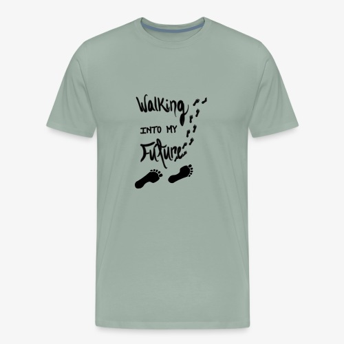 Walking Into My Future - Men's Premium T-Shirt