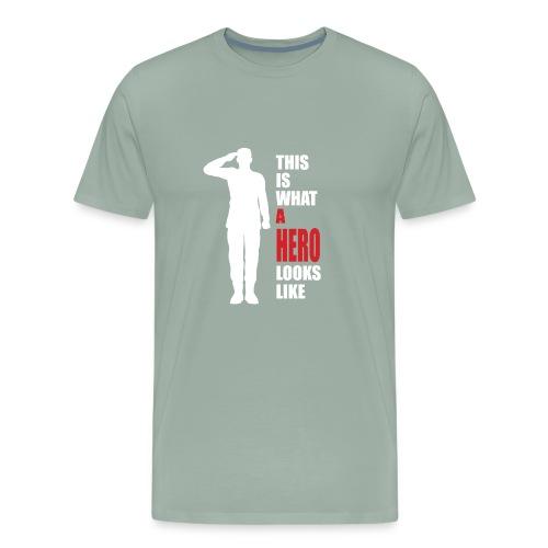 A HERO - Men's Premium T-Shirt