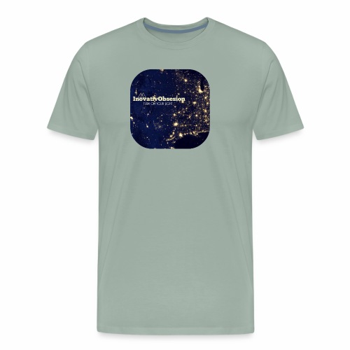 "InovativObsesion ""TURN ON YOU LIGHT"" Apparel - Men's Premium T-Shirt"