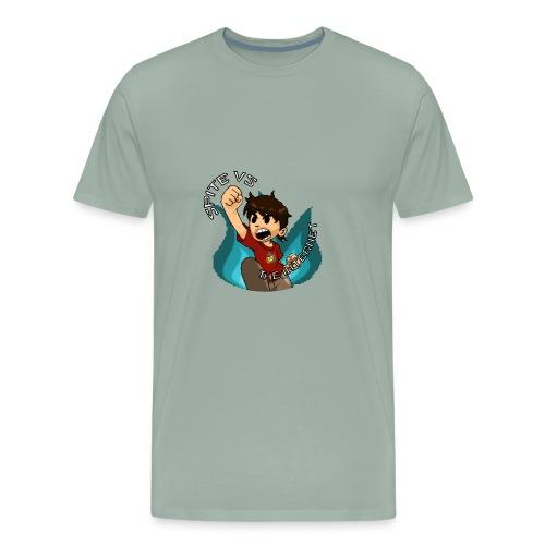 Spite Vs. The Internet - Men's Premium T-Shirt