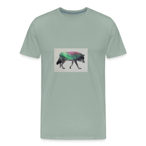 Double Exposure Of Animals - Men's Premium T-Shirt