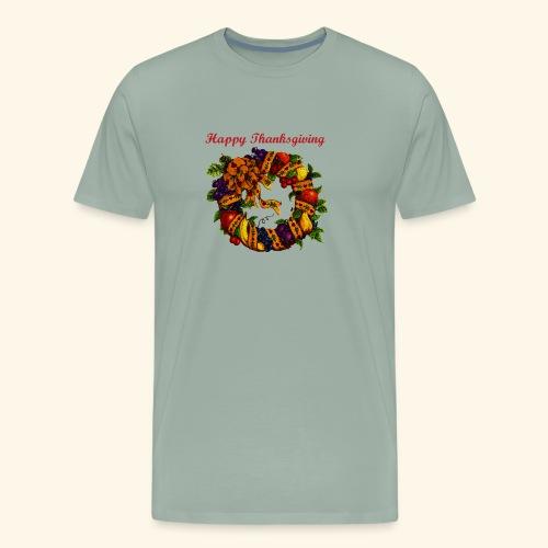 Happy Thanksgiving 1 - Men's Premium T-Shirt