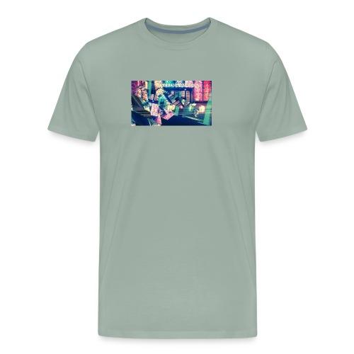 ElectricNights - Men's Premium T-Shirt