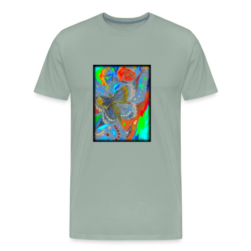 Butterfly - Men's Premium T-Shirt