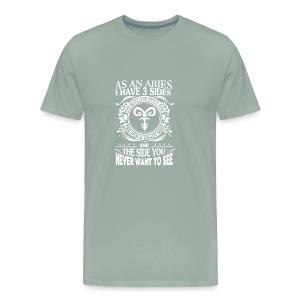 Aries 3 Sides T shirt - Men's Premium T-Shirt