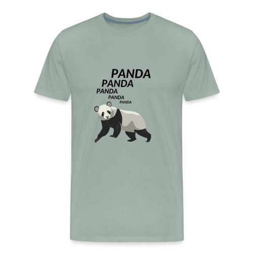 Panda Panda Panda - Men's Premium T-Shirt