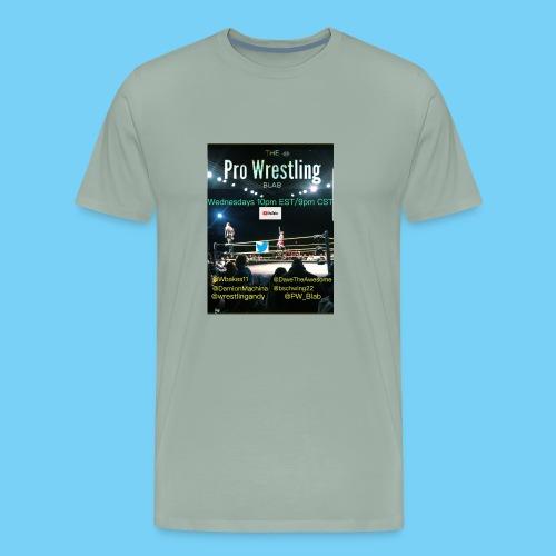 PW_Blab Show grapic - Men's Premium T-Shirt