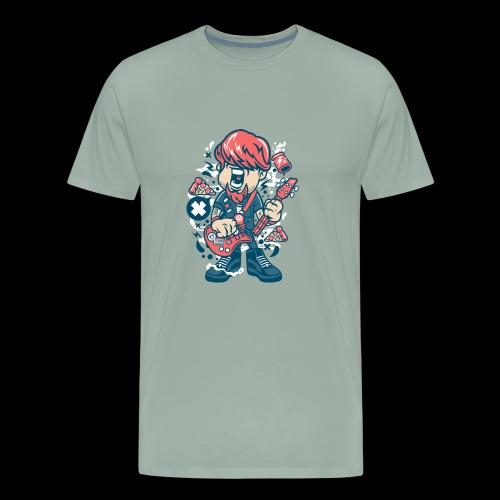 Rock man - Men's Premium T-Shirt