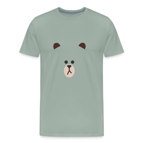 bear line - Men's Premium T-Shirt