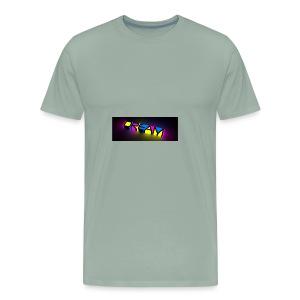 dream color neon - Men's Premium T-Shirt