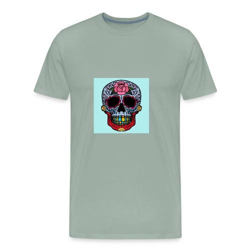 creative skull - Men's Premium T-Shirt