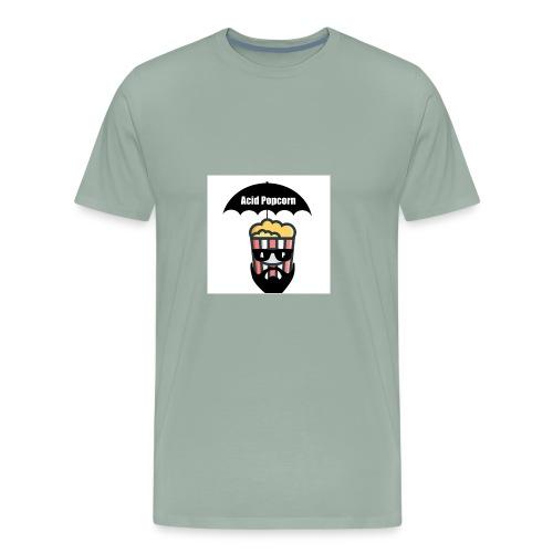 Acid Popcorn Logo Official - Men's Premium T-Shirt