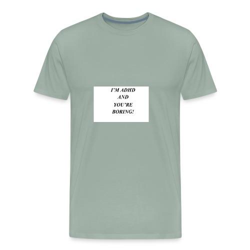 ADHD t shirts - Men's Premium T-Shirt