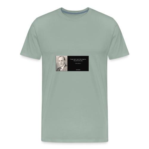 wise quote - Men's Premium T-Shirt