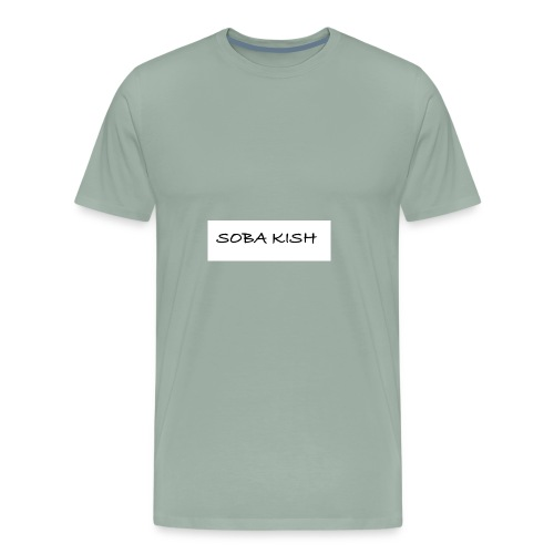 SOBA KISH - Men's Premium T-Shirt