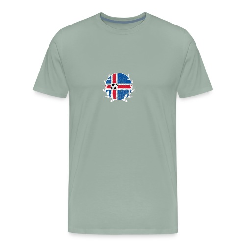 Iceland Football logo - Men's Premium T-Shirt
