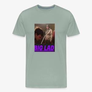 BIG LAD CAUGHT - Men's Premium T-Shirt