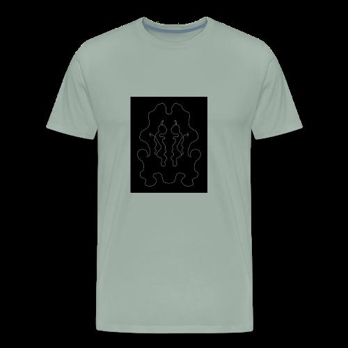 Spirality Drawing - Men's Premium T-Shirt