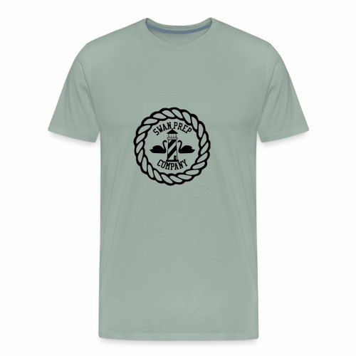 Swan Prep Badge Classic Design - Men's Premium T-Shirt