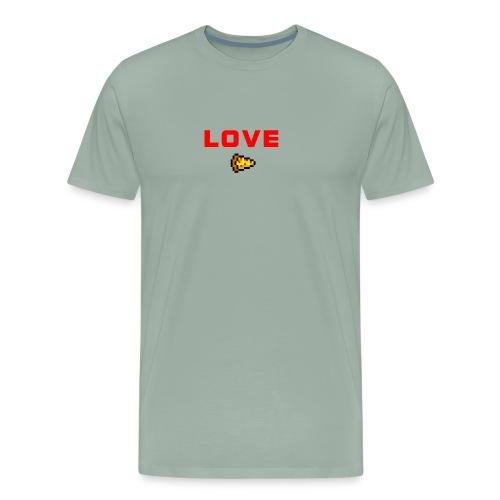 LOVE PIZZA - Men's Premium T-Shirt