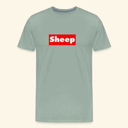 sheep hoodie - Men's Premium T-Shirt
