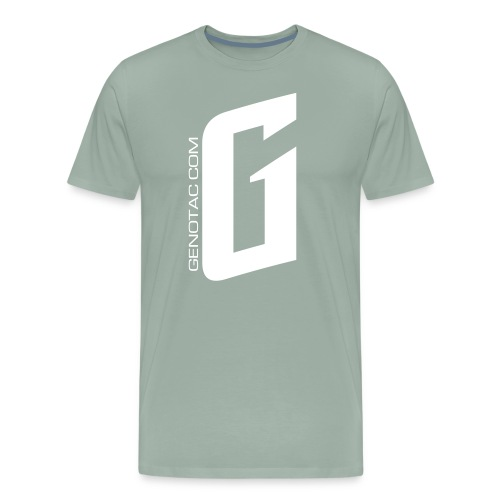 White G - Men's Premium T-Shirt