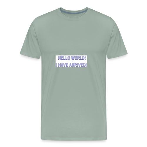 Hello World - Men's Premium T-Shirt