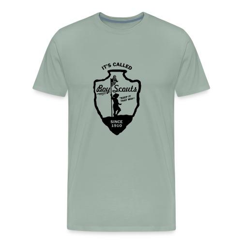 BOY Scouts is for BOYS - Men's Premium T-Shirt